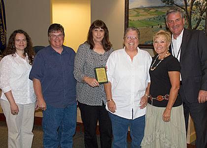 ODFW Volunteer award 2014